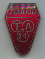 TAM 200000 - Slovenia, Industrial Vehicles, Truck, Camion, Enamel, Insignia, Plaque, Badge, Abzeichen, Dim: 95x70mm - Camions