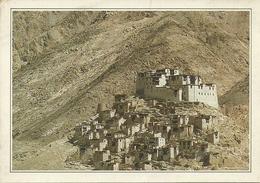 Rizong, Ladakh (India) Monastero Buddista, Monastere Bouddhiste - India