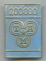 TAM 200000 - Slovenia, Industrial Vehicles, Truck, Camion, Insignia, Plaque, Badge, Abzeichen, Dim: 95x65mm - Camions