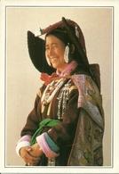 Leh, Jammu - Kashmir, Ladakh (India) Traditional Costume, Costume Tradizionale - India
