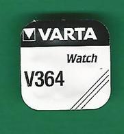 PILE V 364 SR 621 SW WATCH  VARTA  QUARTZ ORIGINE NEUF - Montres Modernes
