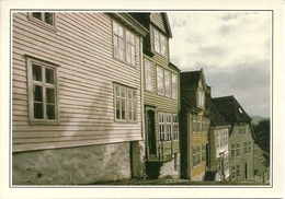 Bergen (Norway, Norvegia) Gamle Bergen, Ville-Musée, Città Museo - Norvegia