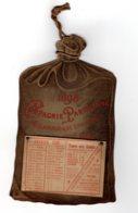 ALMANACH-CALENDRIER  EFFEUILLER PUBLICITE 1898 COMPAGNIE PARISIENNE D'ECLAIRAGE & CHAUFFAGE PAR LE GAZ - Calendriers
