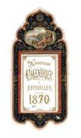 ALMANACH-NOUVEAU CALENDRIER EFFEUILLER à Système 1870  Second Emprire Napoléon III - Calendriers