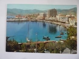 """Cartolina  Viaggiata """" Isola D'Elba - PORTOFERRAIO Il Porto"""" 1971 - Italia"""