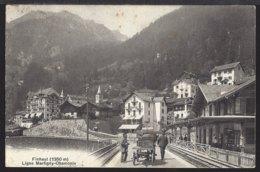 Finhaut - La Gare - Bahnhof - Ligne Martigny - Chamonix - 1910 - VS Valais