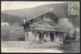 Gare De Six Fontaines - Bahnhof - Yverdon Sainte Croix - 1906 - VD Vaud