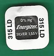 PILE  315 LD  SR 716 SW WATCH  ENERGIZER   QUARTZ ORIGINE NEUF - Montres Modernes