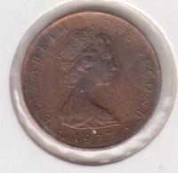 @Y@    Eiland MAN      1/2 Penny  1977  Unc   FAO    (MA14)   UNC - Kolonien