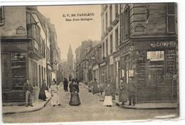 1 Cpa Paris - Rue Jean Bologne - France