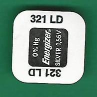 PILE  321  LD  SR 616 SW WATCH  ENERGIZER   QUARTZ ORIGINE NEUF - Bijoux & Horlogerie