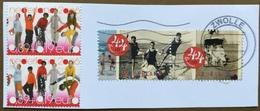 NETHERLANDS Piece Of Envelope With Stamps - Gebruikt