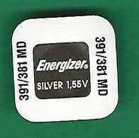 PILE  391 / 381  MD  SR 1120 SW WATCH  ENERGIZER   QUARTZ ORIGINE NEUF - Montres Modernes