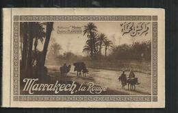 Maroc. Marrakech La Rouge , Carnet De 20 CPA Edition Flandrin - Marrakech