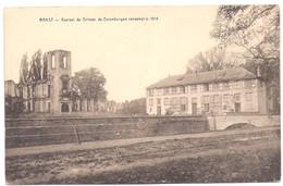 RANST  - KASTEEL DE GILMAN DE ZEVENBERGEN VERWOEST IN 1914 - Ranst