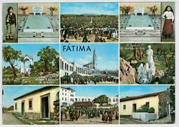 FATIMA    RECORDACAO--   RICORDO   SOUVENIR  (VIAGGIATA) - Portogallo