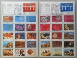 FDC Jugoslavia 1984 - 2 Cartoline Maximum Europa CEPT - Francobolli