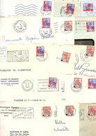 FRANCE MARCOPHILIE TYPE NEF LOT DE LETTRES 235 GRAMMES - Lots & Kiloware (mixtures) - Min. 1000 Stamps