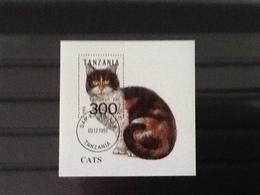 Tanzania 1992 Cats Used. - Tanzanie (1964-...)