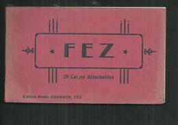 Maroc. Fez, Carnet De 20 CPA - Fez (Fès)