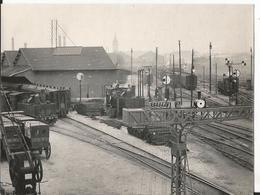 Photo -  Gare à Localiser - Trains - Années 30 - Locomotive - Chemin De Fer - Trains