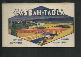 Maroc ; Casbah-Tadla, Carnet De 20 CPA - Maroc