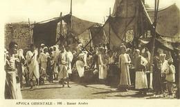 "2516 "" AFRICA ORIENTALE - BAZAR ARABO "" CARTOLINA ORIGINALE NON SPEDITA - Etiopia"