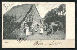 CARTOLINA CV2347 BELGIO BELGIQUE Spa Capanna Delle Ardenne, 1901, Viaggiata Per L'Italia, Formato Piccolo, Francobollo A - Belgio