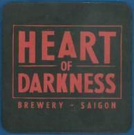 Hong Kong - Bierdeckel - Heart Of Darkness - Beer Mats