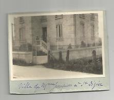 Photographie Militaria Guerre 14-18 St Dizier 52 Haute Marne Villa Mde Jampierre Maison Close? Photo 6x8,5 Cm - Guerre, Militaire