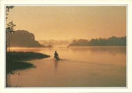 Amazonia (Brasile) Crepuscule Sur Le Fleuve Amazone, Tramonto Sul Rio Delle Amazzoni - Brasile