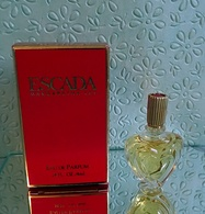 "Miniature De Parfum ""ESCADA""  De MARGARETHA LEY   Eau De Parfum 4 Ml Avec Sa Boîte - Miniatures Modernes (à Partir De 1961)"