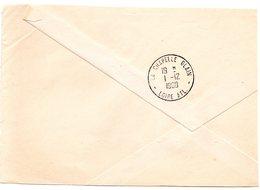 LOIRE ATL- Dépt N° 44 = LA CHAPELLE GLAIN 1960 = CACHET A8 - Manual Postmarks