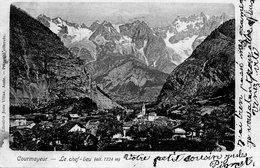 Italie :Aosta Courmayeur Le Chef Lieu - Aosta