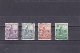 Saxe Occidentale Neuf ** 1946  N° 37/40  Foire De Leipzig - Saxe