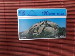 Phonecard Aruba 405 D Used - Aruba
