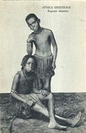 """2520 """"AFRICA ORIENTALE-RAGAZZE ABISSINE """" CARTOLINA ORIGINALE NON SPEDITA - Etiopia"""