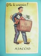 ST/108- 20 - AJACCIO - POSTE - Facteur Bien Chargé - Ajaccio