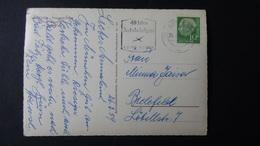 Germany - 1954 - Mi:DE 183, Sn:DE 708, Yt:DE 67 On Postcard O - Look Scans - [7] République Fédérale