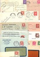 FRANCE MARCOPHILIE TYPES PETAIN LOT DE LETTRES 630 GRAMMES - Lots & Kiloware (mixtures) - Min. 1000 Stamps