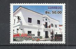 BOLIVIA 2016 - 100 YEARS AMIGOS DE LA CIUDAD - POSTALLY USED OBLITERE GESTEMPELT USADO - Bolivie
