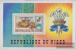 Niger Block38 (complete Issue) Unmounted Mint / Never Hinged 1982 Prince William - Niger (1960-...)