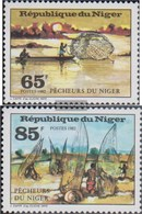 Niger 802-803 (complete Issue) Unmounted Mint / Never Hinged 1982 Fishing - Niger (1960-...)