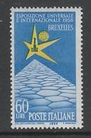 TIMBRE NEUF D'ITALIE - EXPOSITION DE BRUXELLES N° Y&T 759 - 1958 – Bruxelles (Belgique)