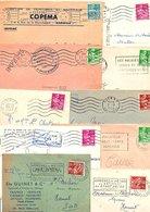 FRANCE MARCOPHILIE TYPES GERBES LOT DE LETTRES 150 GRAMMES - Lots & Kiloware (mixtures) - Min. 1000 Stamps