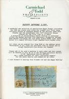 LITPHI - VPN -CARMICHAEL & TODD - EGYPTE - Catalogues For Auction Houses