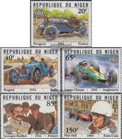 Niger 773-777 (complete Issue) Unmounted Mint / Never Hinged 1981 Grams. Price Of France - Niger (1960-...)