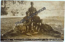 Photo Militaire Luger Minenwerfer Military 1920 BOGUCICE Silésie Pologne Polen Polska - War, Military
