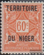 French-Niger P7 With Hinge 1921 Postage Stamps - Niger (1921-1944)
