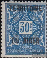 French-Niger P5 With Hinge 1921 Postage Stamps - Niger (1921-1944)